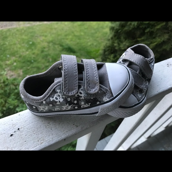 Children's Place Other - Grey, white and black children's sneakers